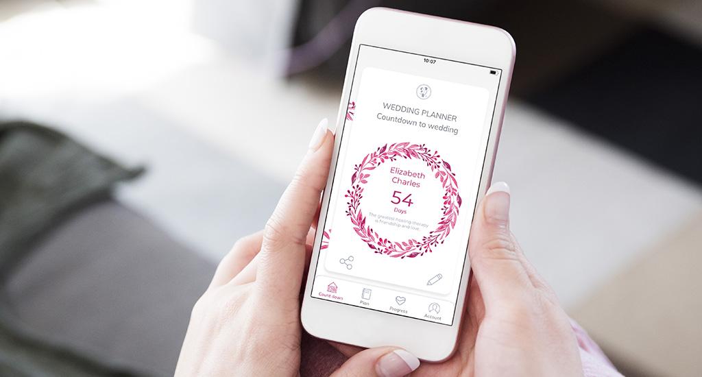 Wedding countdown app wedding