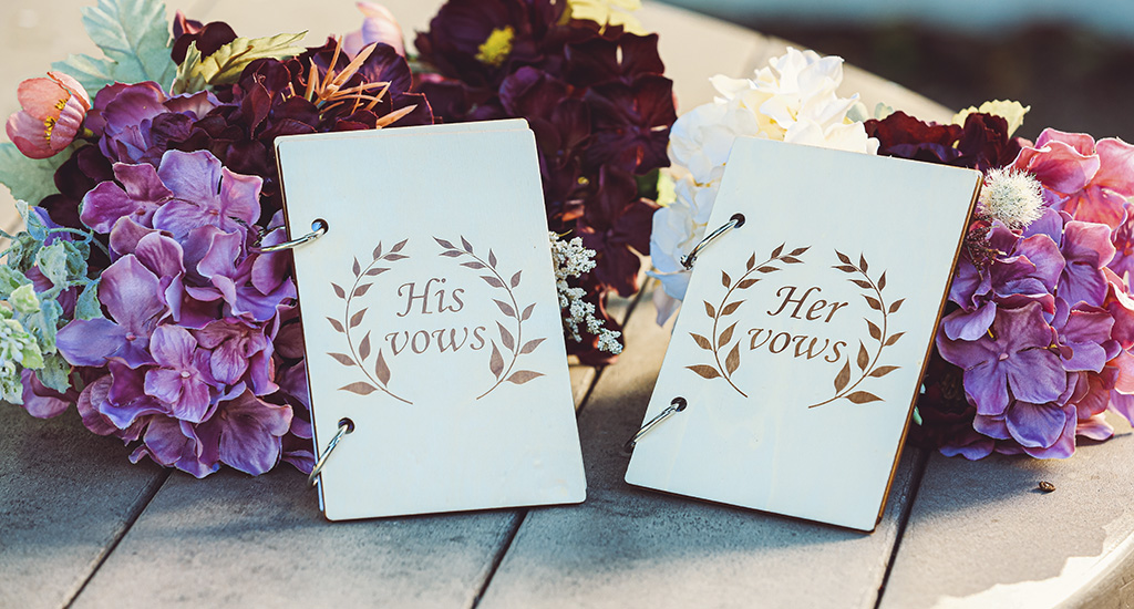 How to write a marriage vow after the engagement